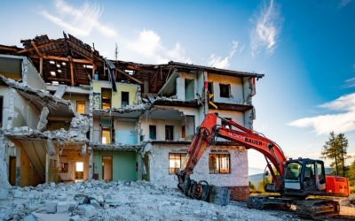 Hotel Ludwig – Abbruch einer Bauruine